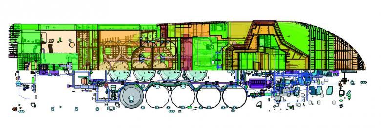 SENER NAVAL - Subistemas FORAN Diseño Eléctrico FSYSD programas electricos