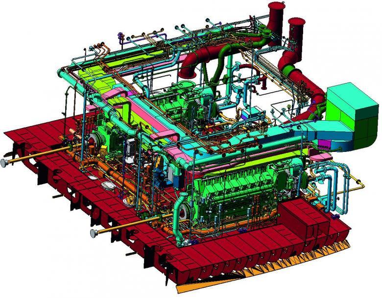SENER NAVAL - Subistemas FORAN CAD generación de dibujos