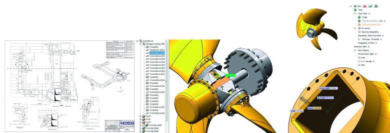 SENER NAVAL - Subistemas FORAN CAD Mechanical Toolset