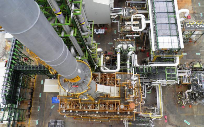 Complejo petroquímico de la Cangrejera en Veracruz (México)