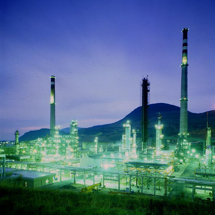 Refinería de Petronor en Muskiz (España)