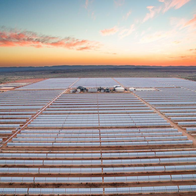 Planta solar termoeléctrica Bokpoort en Sudáfrica