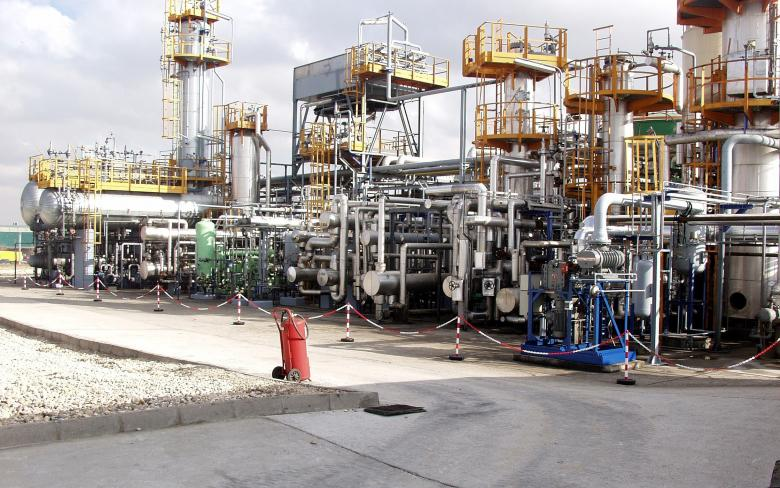 Used mineral oil regeneration plant