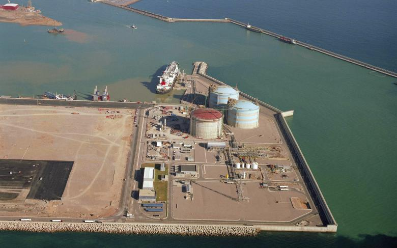 LNG regasification plant at Sagunto (3rd tank)
