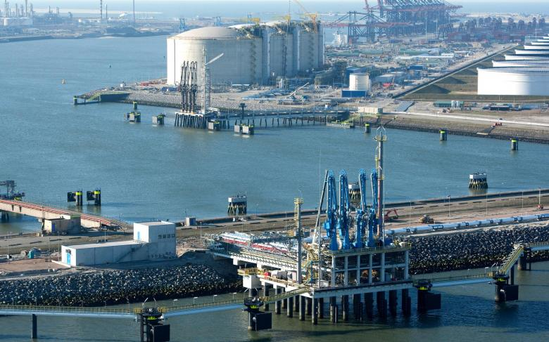 Rotterdam LNG regasification plant