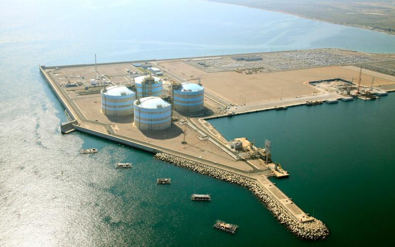 LNG regasification plant at Sagunto (4th tank)