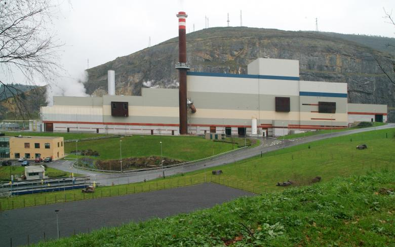 Waste to energy power plant USW