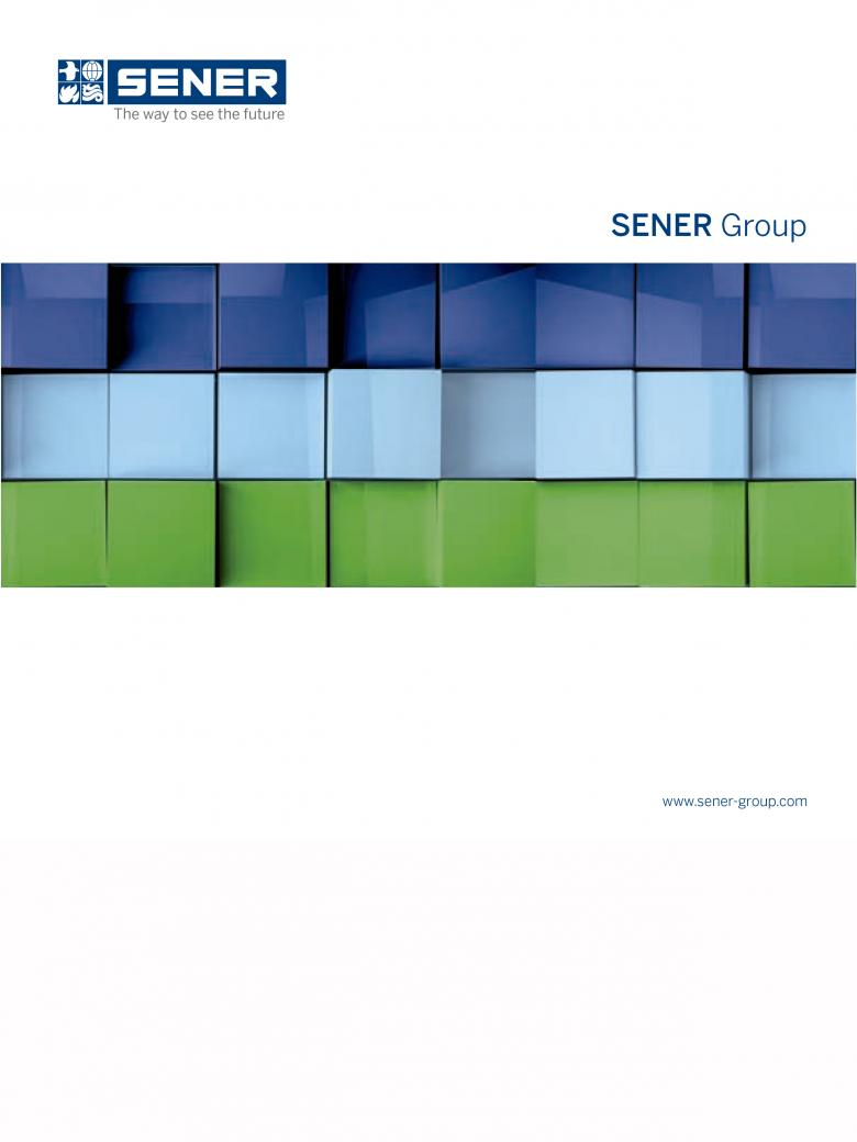 SENER Group corporate brouchure