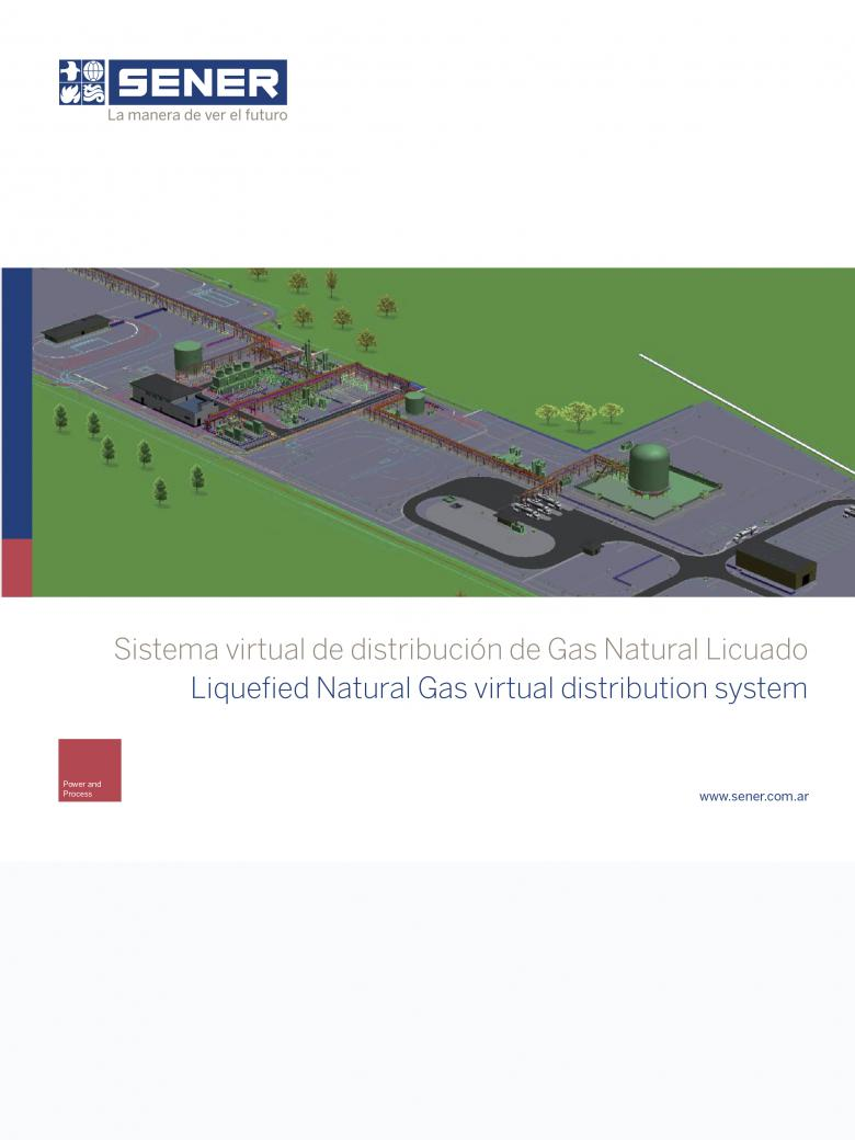 Sistema virtual de distribución de Gas Natural Licuado