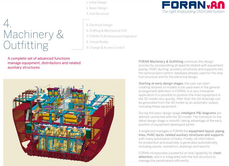 Front cover Brochure 4: FORAN Machinery & Outfitting