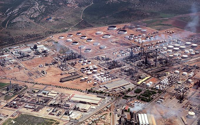 Puertollano refinery