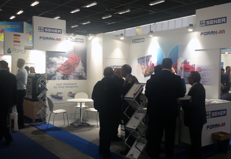 SENER at SMM Hamburg with the latest version of FORAN V80R2.0 and a revolutionary design for LNG carriers