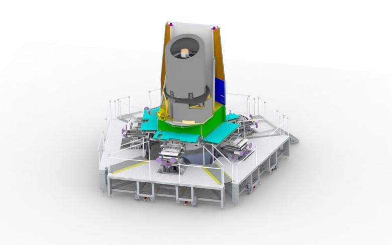SENER en Polonia participa en el montaje del satélite Euclid