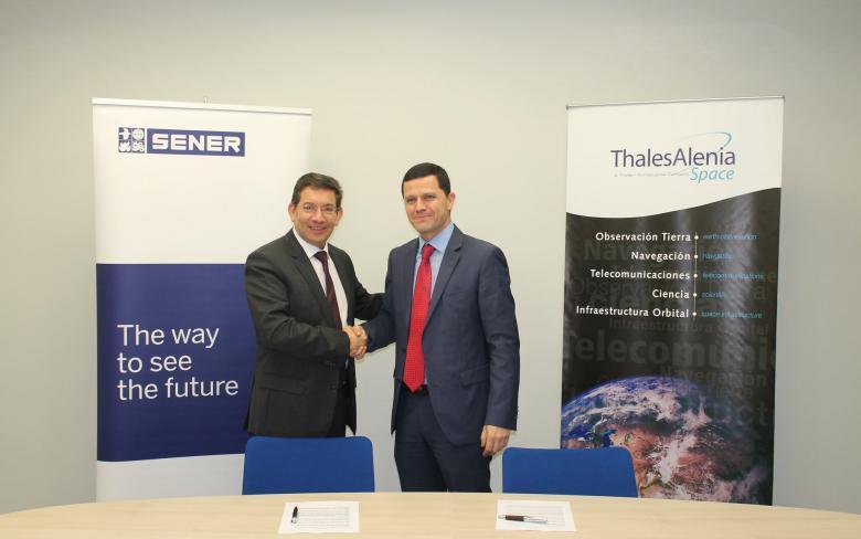SENER y Thales Alenia Space inician su alianza de negocio para cargas útiles ópticas en misiones espaciales