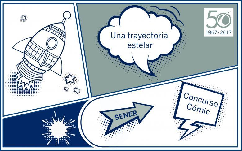 Concurso de Cómic de SENER en Espacio: 'Una trayectoria estelar'