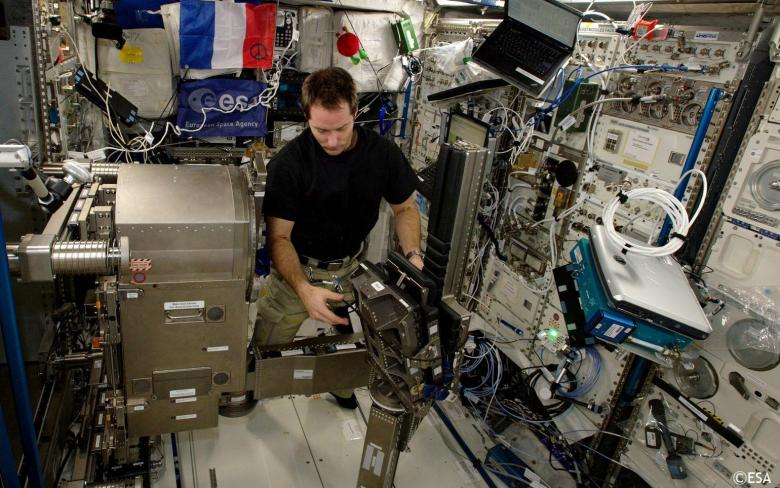 MARES enables the first experiment to measure muscle atrophy in space