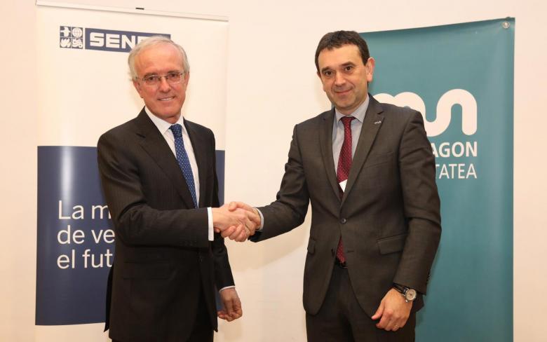 Firma acuerdo SENER y Mondragon Unibertsitatea