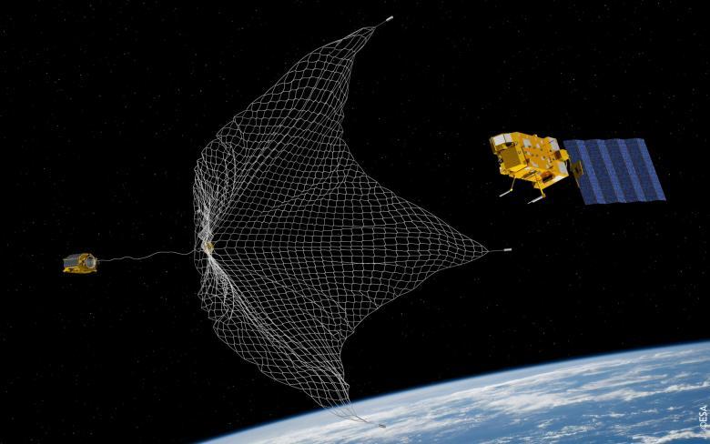 SENER participa en el diseño de un dispositivo para capturar basura espacial