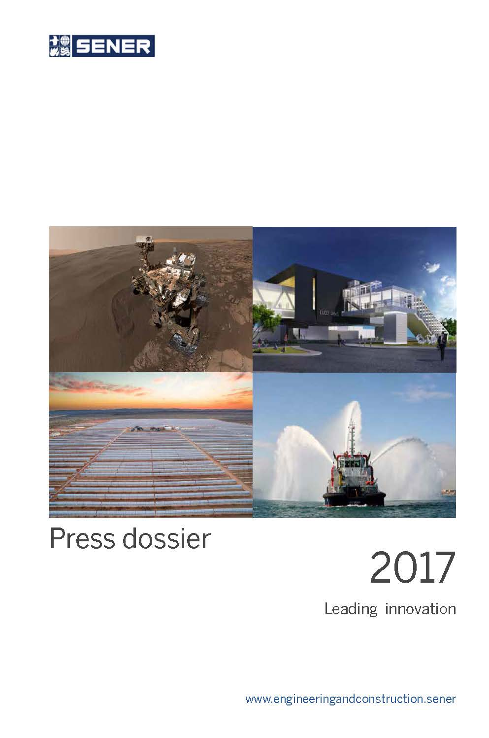 50 years in Space press dossier