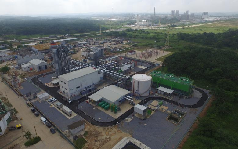 Cogeneration plant for Cyoinfra