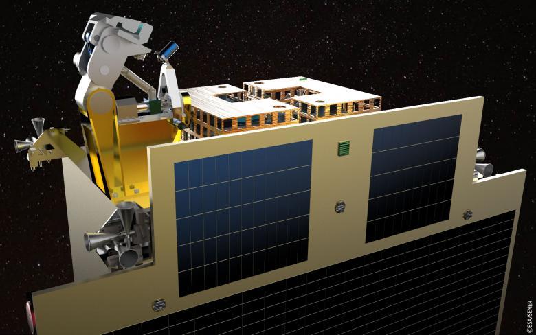 Polscy inżynierowie projektują urządzenie do łapania kosmicznych śmieci