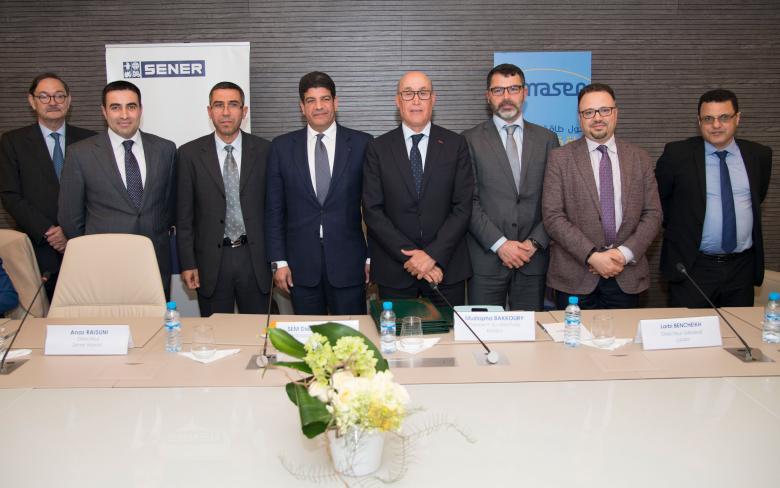 SENER, Masen y la OFPPT firman un convenio de colaboración para formar al futuro personal de Noor Ouarzazate II y III
