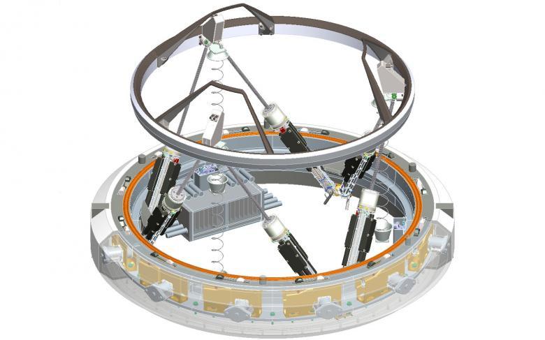 SENER works for NASA on a docking system for the International Space Station