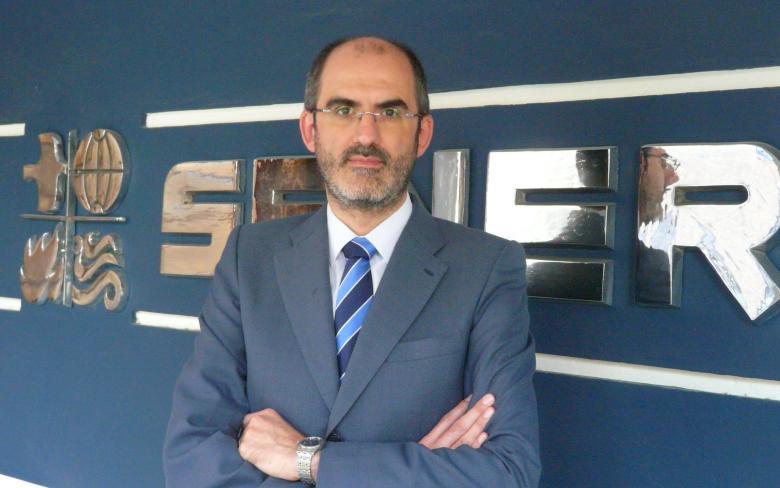 Enrique Gómez, director de la división de SENER en Bilbao