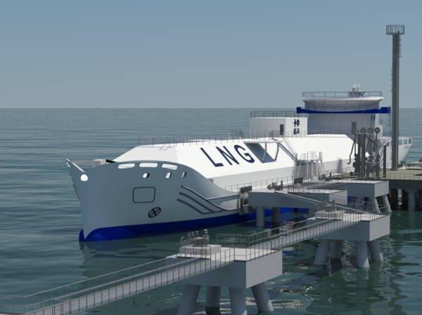 SENER_Bunkering LNG vessel