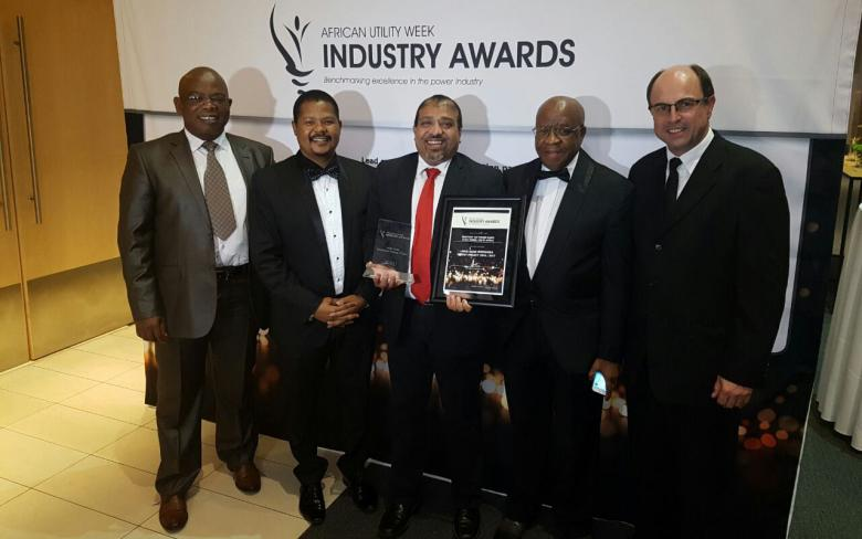 SENER at African Utility Week Industry Awards