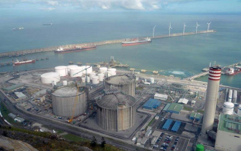 BBG regasification plant