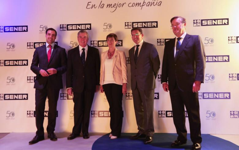 SENER celebrates its 50 years in Space in Bilbao
