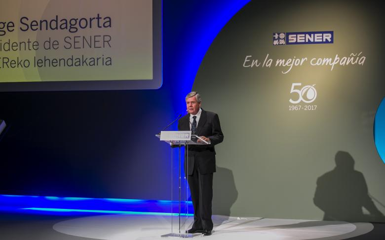 SENER held the 50th anniversary celebration of its aerospace division