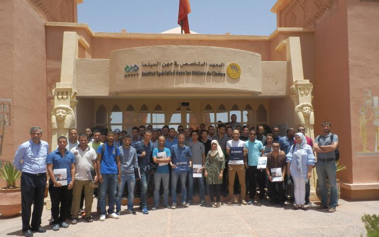 Formación del futuro personal de las centrales NOORo Ouarzazate II