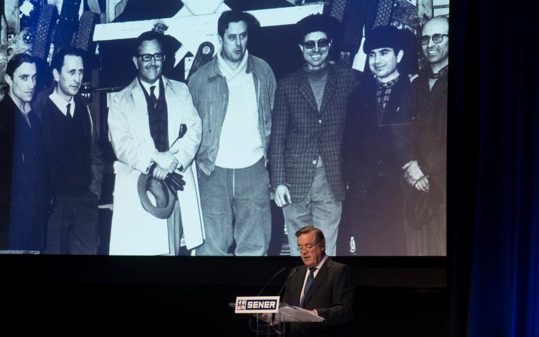 Andrés Sendagorta participa en el evento conmemorativo del 50 aniversario de SENER en Espacio