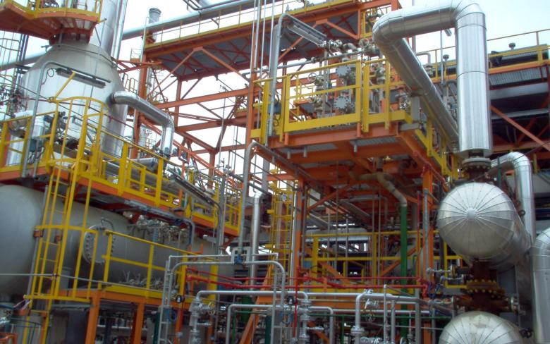 FCC unit for sulphur reduction in naphtha (G-42)
