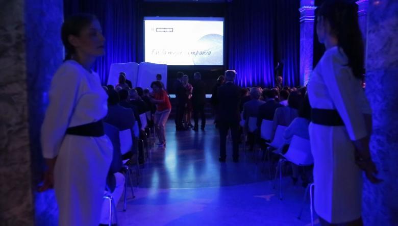 Making of 50 aniversario de SENER en Espacio