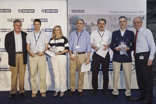 El Proyecto de Gestión de series de buques en FORAN galardonado con el Premio a la Innovación de SENER
