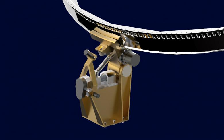 Mechanism for capturing inoperative satellite