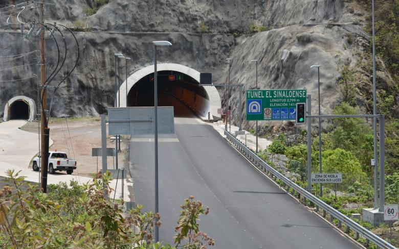 Durango - Mazatlan highway (Mexico)