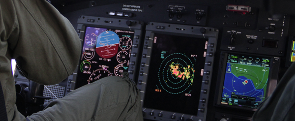 AB212 Digital cabin modernized by SENER