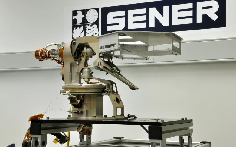 Antena de Alta Ganancia (HGAG)  para el rover Curiosity de la misión Mars Science Laboratory (MSL)