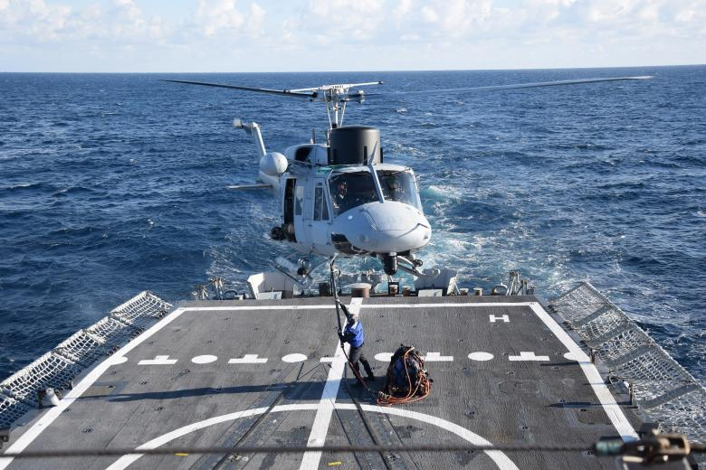 AB-212 en misión