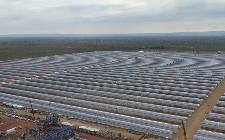 La planta solar termoeléctrica de Kathu ha logrado conectarse con éxito a la red nacional de Sudáfrica