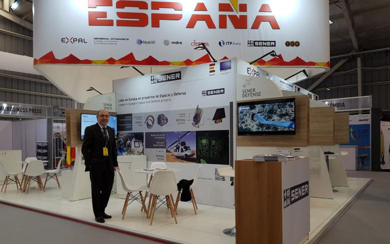 SENER participates at FIDAE 2018 as a supplier of components and equipment for mechanical systems in Space and Defense