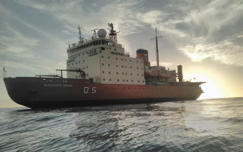 The icebreaker vessel 'Almirante Irizar', modernized by SENER, successfully completes the Antarctic Campaign
