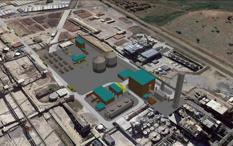 Huelva biomass plant