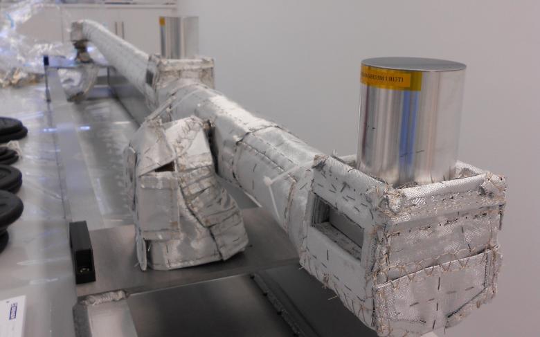 Mástil desplegable del magnetómetro (MAGBOOM) del BepiColombo