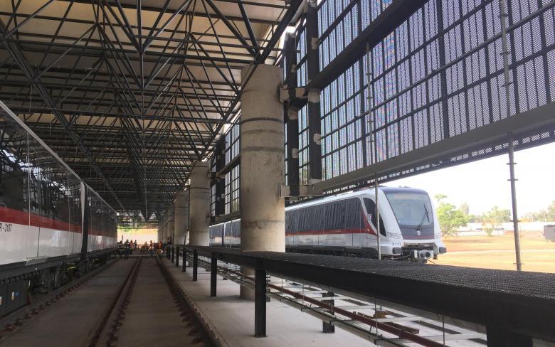 Depot and Workshops for Line 3 Guadalajara Light Rail System