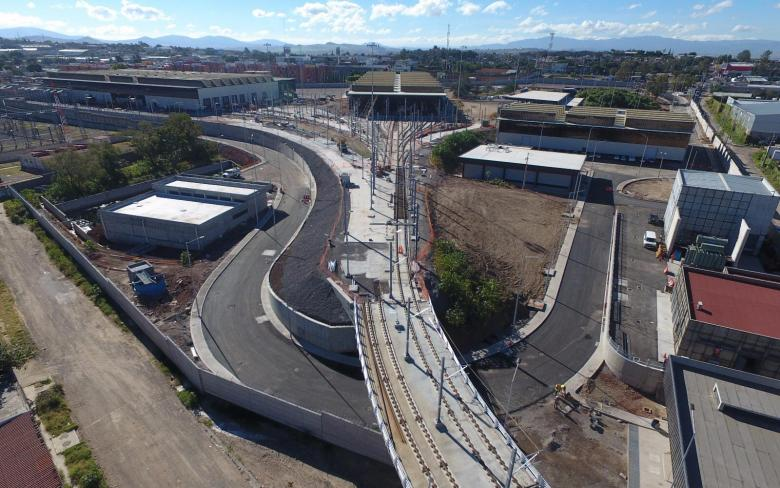 Talleres y Cocheras - Linea 3 Tren Ligero Guadalajara